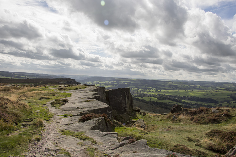 Walking Froggatt Edge