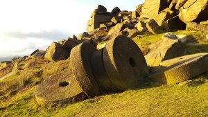 Millstones on Stanage Edge