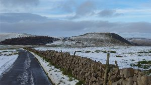Long view of Mam Tor