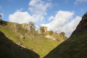Cave Dale, Peveril Castle