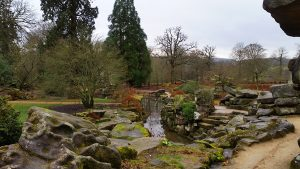 Looking down from the rockery at Chatsworth House