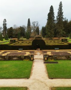 The maze at Chatsworth House