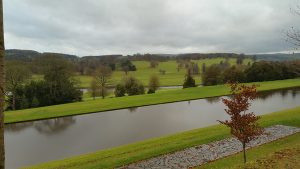 Shot over the Canal Pond at Chatsworth House