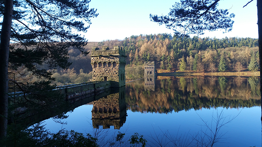 Late December At Howden and Derwent Reservoirs