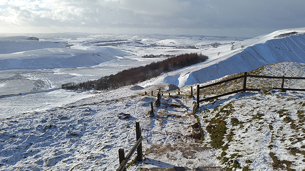 Mam Tor in Winter