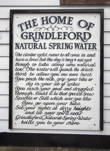 Grindleford Station Cafe, Spring Water
