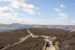 Looking towards Edale from Win Hill