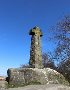 The Wellington Memorial on Baslow Edge