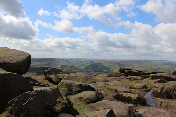 Easter on Stanage Edge