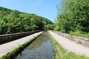 An Aquaduct on The Cromford Canal