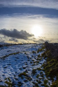 Snow Above Cavedale - 4326