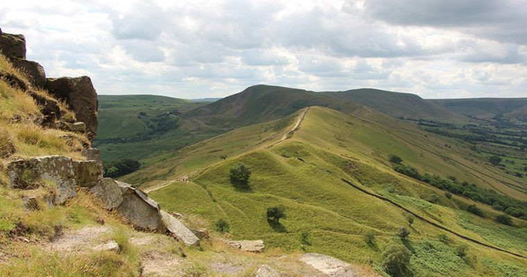Mam Tor and The Great Ridge in Early Summer