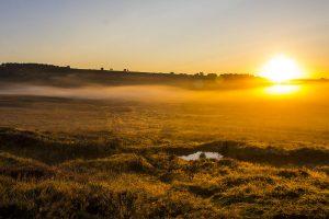 Sunrise Over The Eastern Moors