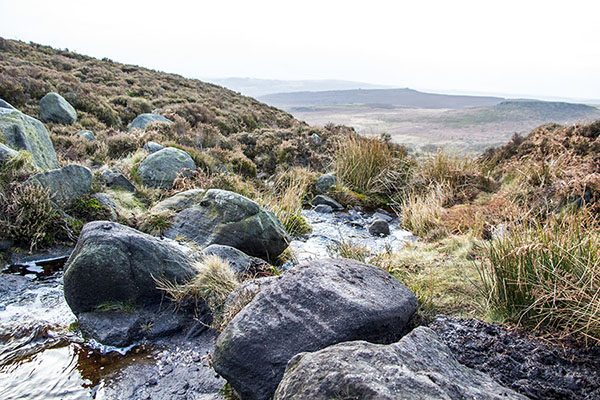 Burbage Valley At the Turn of the Year