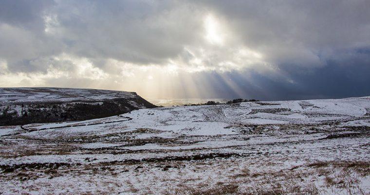 Snow on Derwent Edge