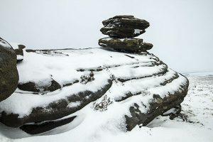 Snow and Ice on Derwent Edge