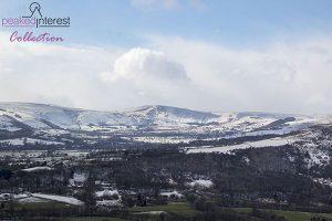 Mam Tor and the Hope Valley Taken From Bamford Edge