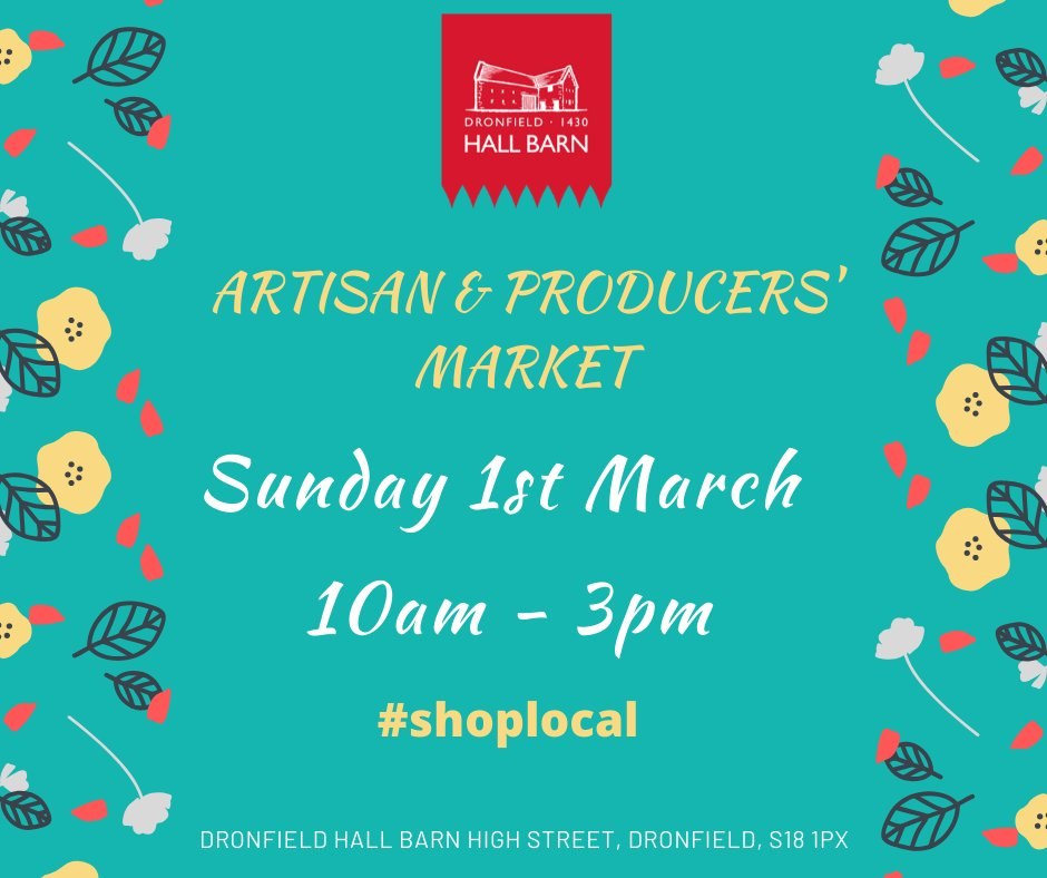 Artisan and Producers' Market, Dronfield Hall Barn