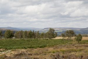 View from Froggat Edge towards Stanage Edge