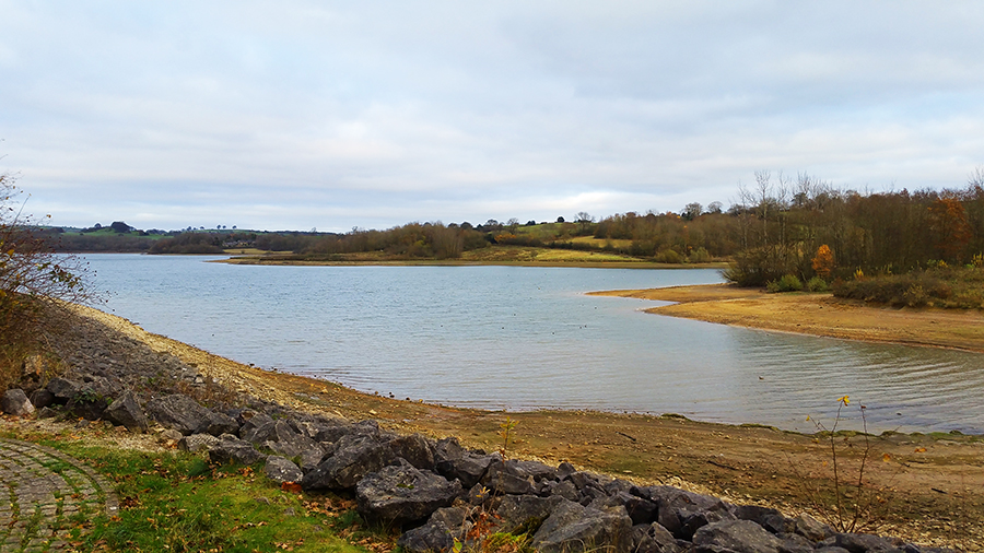 Carsington Water In Autumn