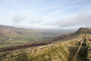 Edale from the Great Ridge