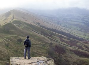 David on Back Tor on the Great Ridge
