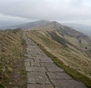Path along The Great Ridge