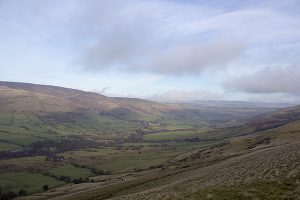 Edale taken from The Great Ridge
