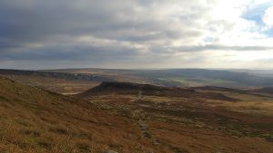 Carl Wark taken from Higgar Tor