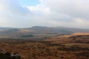higgar Tor from Burbage Edge
