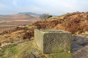The Broken Trough on Burbage Edge