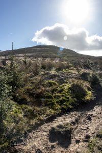 Ascending Win Hill