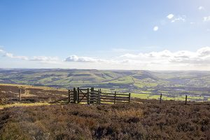 View of the Hope Valley from Win Hill