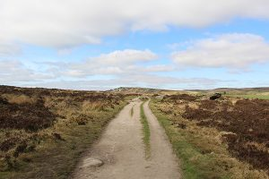 Path on Baslow Edge