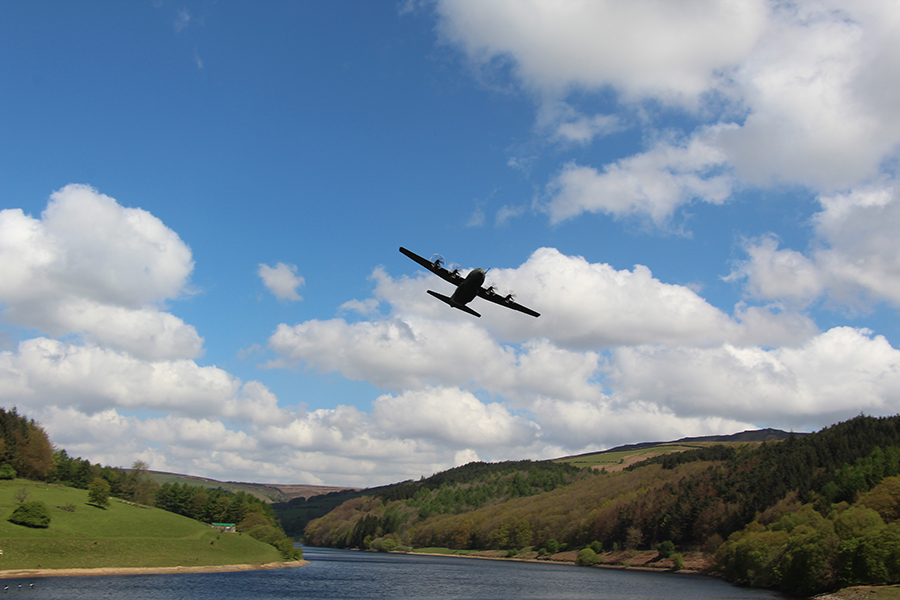 Ladybower Reservoir in Spring