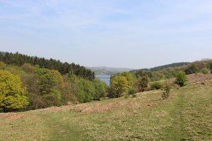 Shot of Dale Dike Reservoir