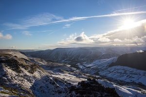 Alport Castles In Winter - 4311