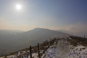 Mam Tor In Winter - 4330