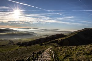 The Path To Mam Tor - 4318