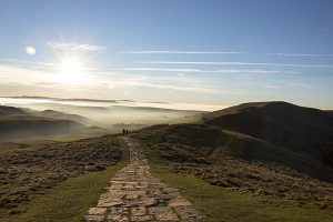 Solitude On  Mam Tor - 4316