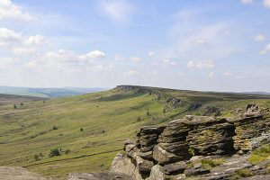 Stanage Edge in Spring - 4328