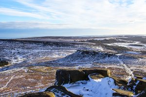 GC 011 Karl Wark and Burbage Valley in Winter