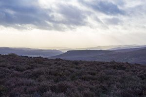 View from Burbage Edge over Burbage Valley