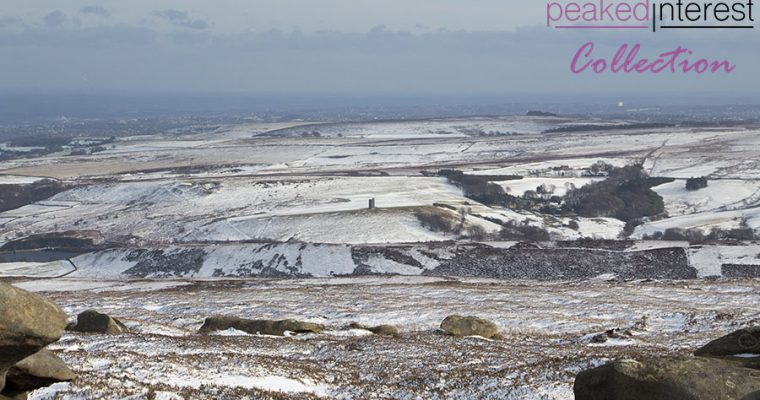 Late Winter Snow on Derwent Edge