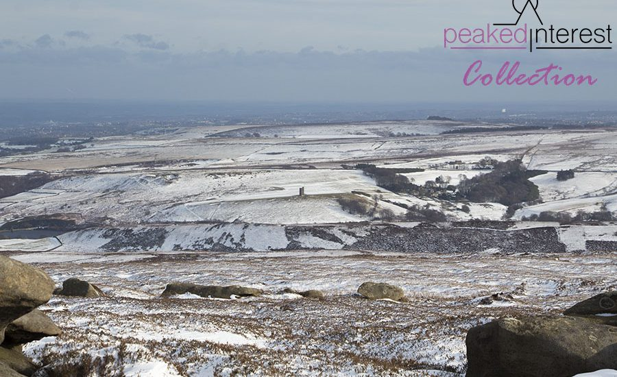 Late Winter Snow on Derwent Edge