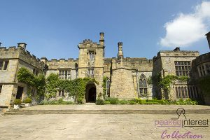 The Courtyard at Haddon Hall