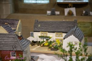 Eyam Village Modelled in Cake
